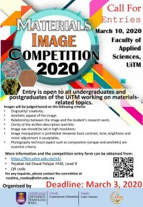 Materials Image Competition 2020 (MIC2020)