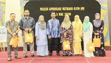 MITRANS, UiTM and Road Transport Department Malaysia Appreciation Ceremony