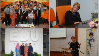 Professional Discourse Series by the Faculty of Education Featured Dr. Shelda Debowski, Australia's Renowned Expert of Educational Leadership